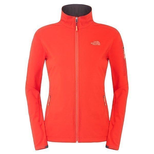 The North Face Ceresio naisten softshell-takki punainen