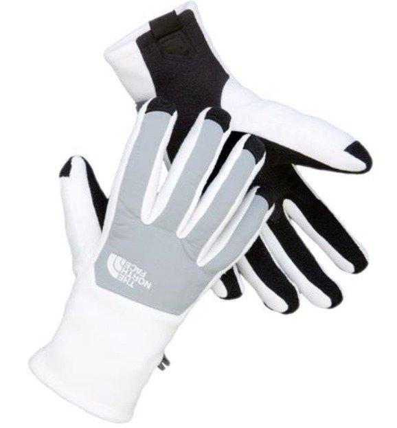 The North Face Denali Etip Gloves käsineet valkoinen/harmaa