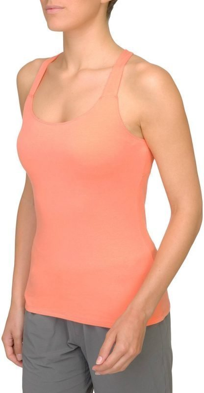The North Face Gentle Stretch Womens Cami Tank Top Oranssi XL