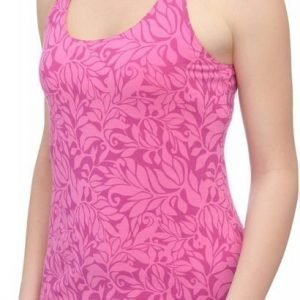 The North Face Gentle Stretch Womens Cami Tank Top Pinkki L