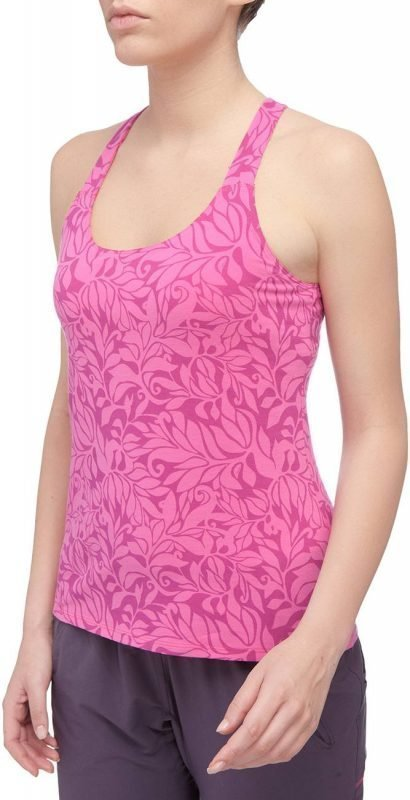 The North Face Gentle Stretch Womens Cami Tank Top Pinkki XL
