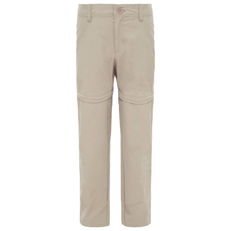 The North Face Girls Argali Convertible Hike Pant XS Dune Beige/Dune Beige