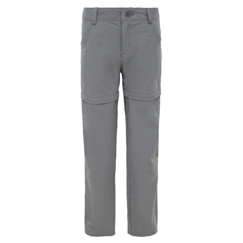 The North Face Girls Argali Convertible Hike Pant XS PACHE GREY/PACHE GREY