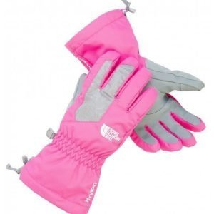 The North Face Girls Montana Gloves käsineet pinkki