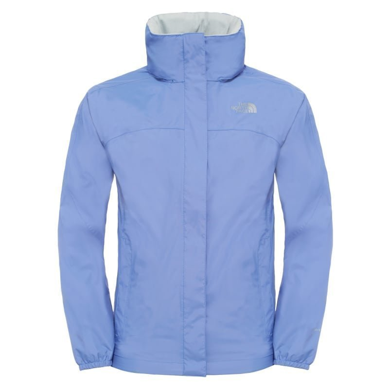 The North Face Girl's Resolve Reflective Jacket M Stellar Blue
