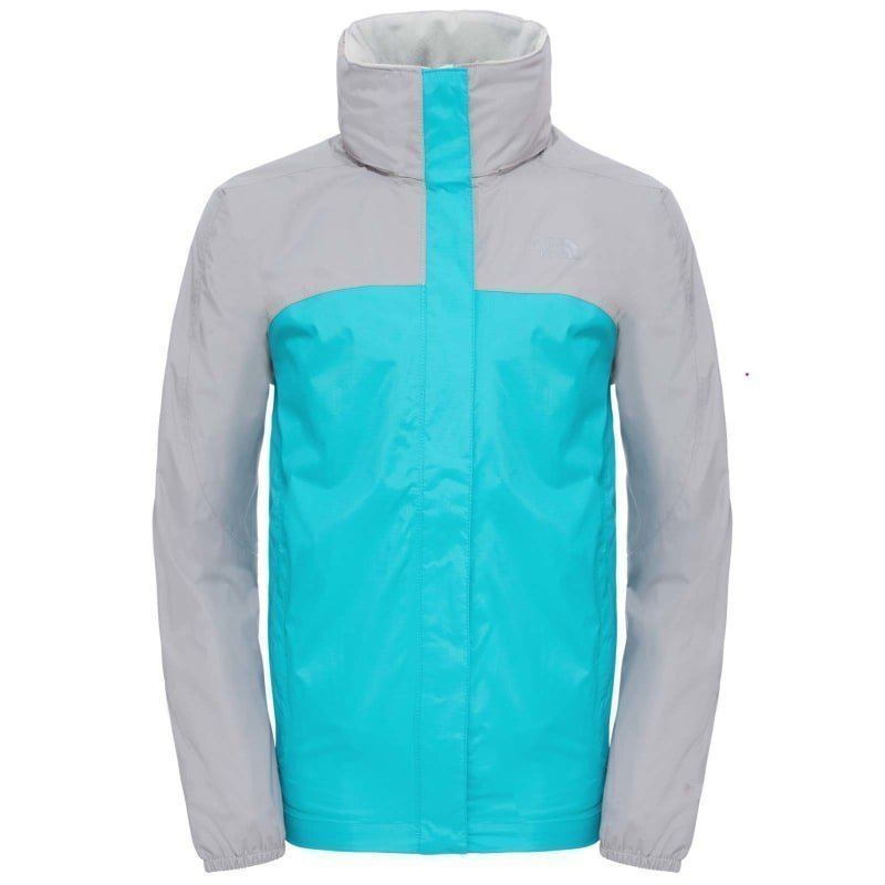 The North Face Girl's Resolve Reflective Jacket S Bluebird