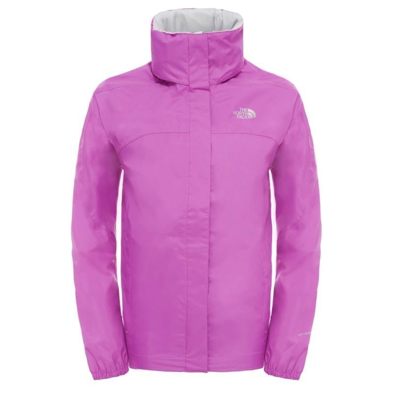 The North Face Girl's Resolve Reflective Jacket S Sweet Violet