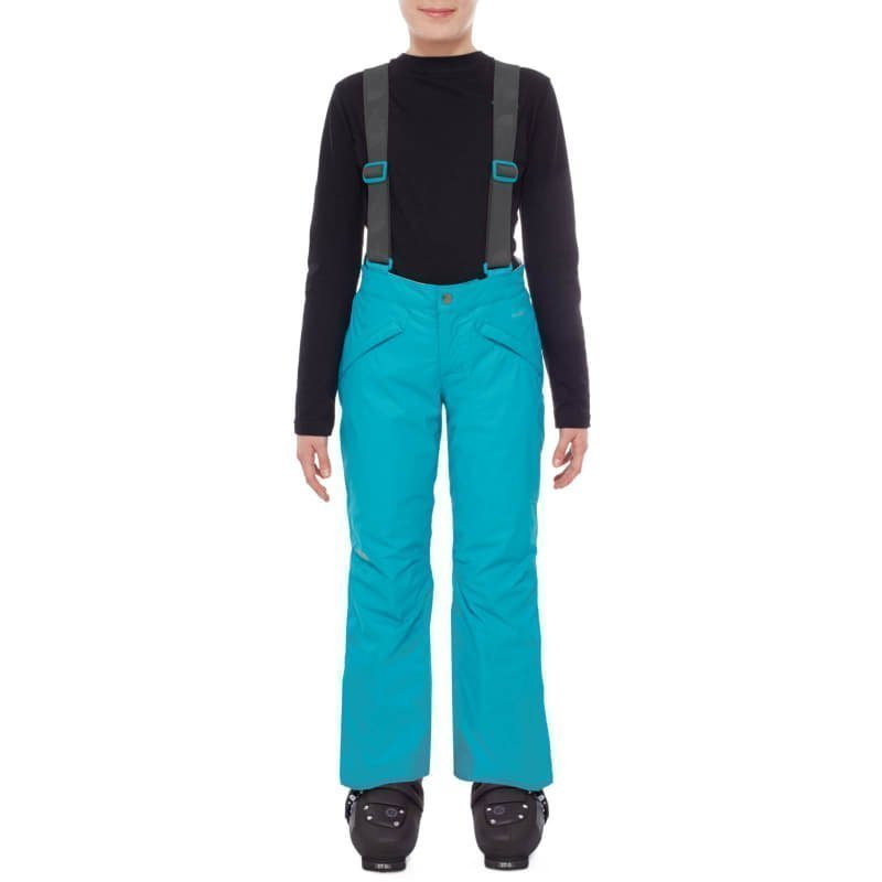 The North Face Girls Snowquest Suspender Pant XXS Kokomo Green