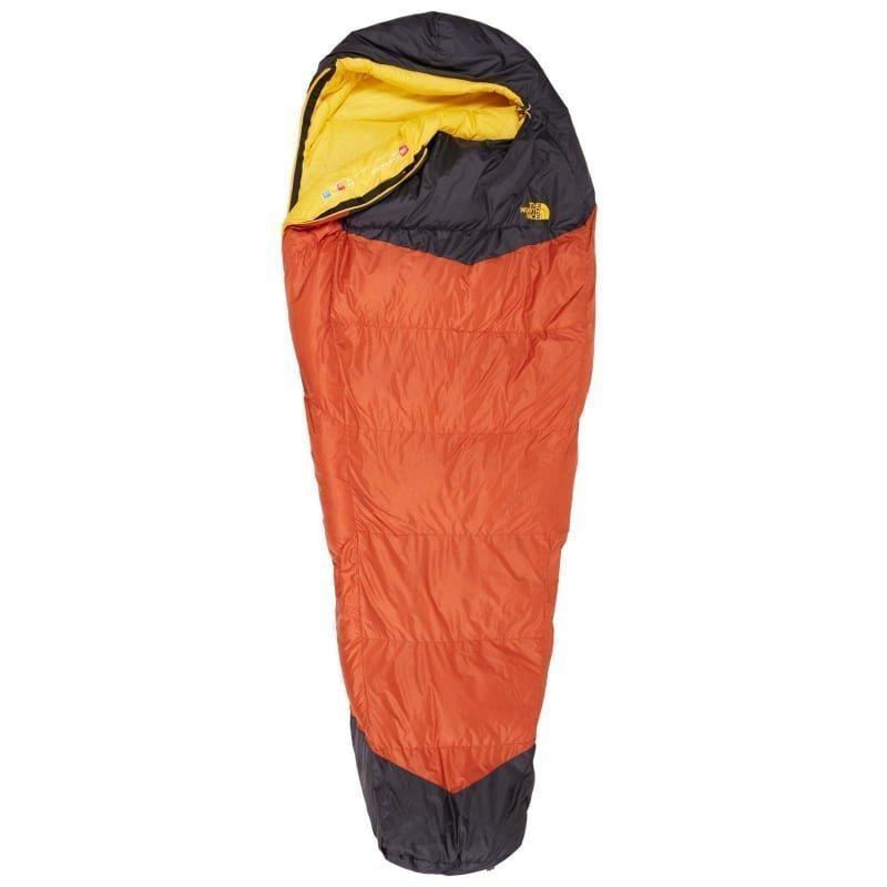 The North Face Gold Kazoo Regular Right Zip Orange Rust/Asphalt Grey