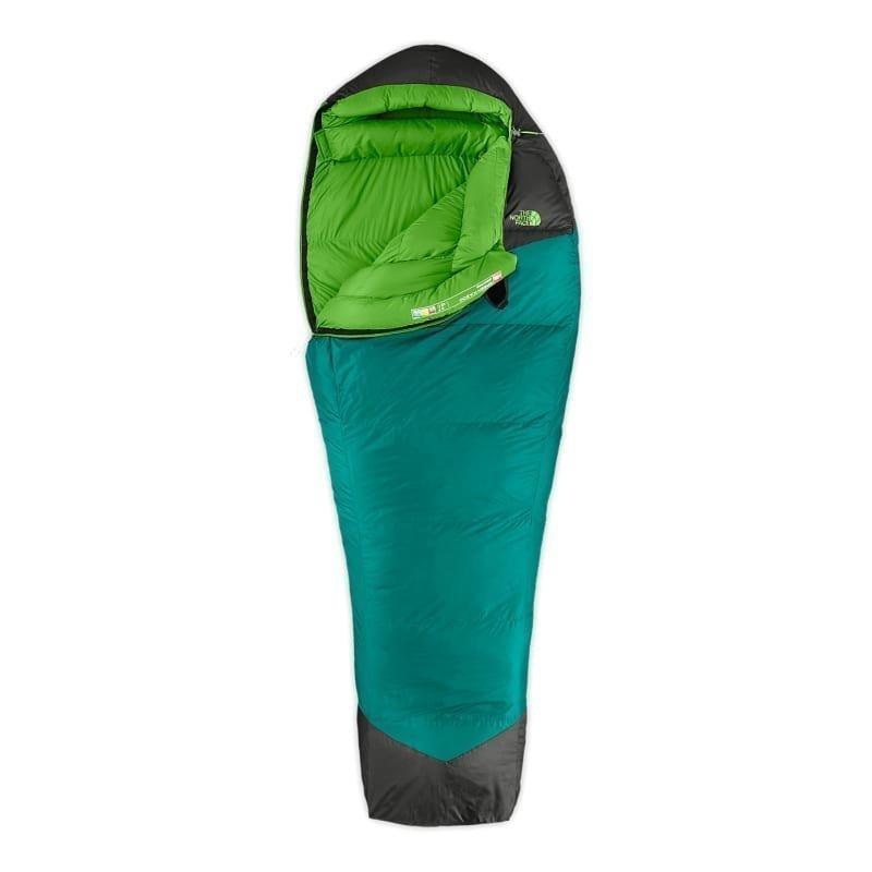 The North Face Green Kazoo Long Right Zip Greener Pastures/Asphalt Grey