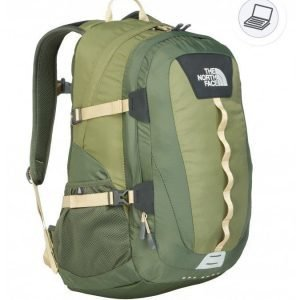 The North Face Hot Shot backpack vihreä