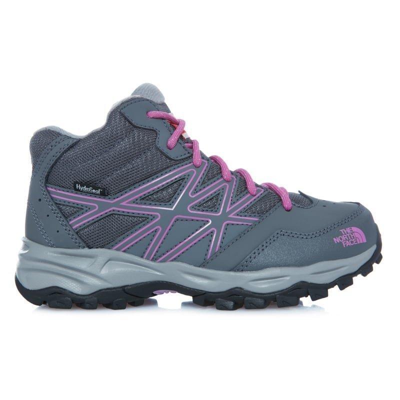 The North Face Junior Hedgehog Hiker Mid Wp US3/EU35 Zinc Grey/Wisteria Purple