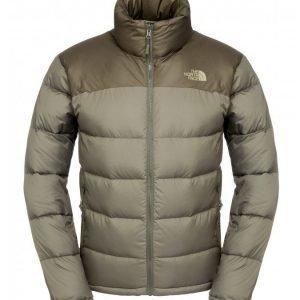 The North Face Men Nuptse Jacket pieneen tilaan pakattava talvitakki Black Ink Green