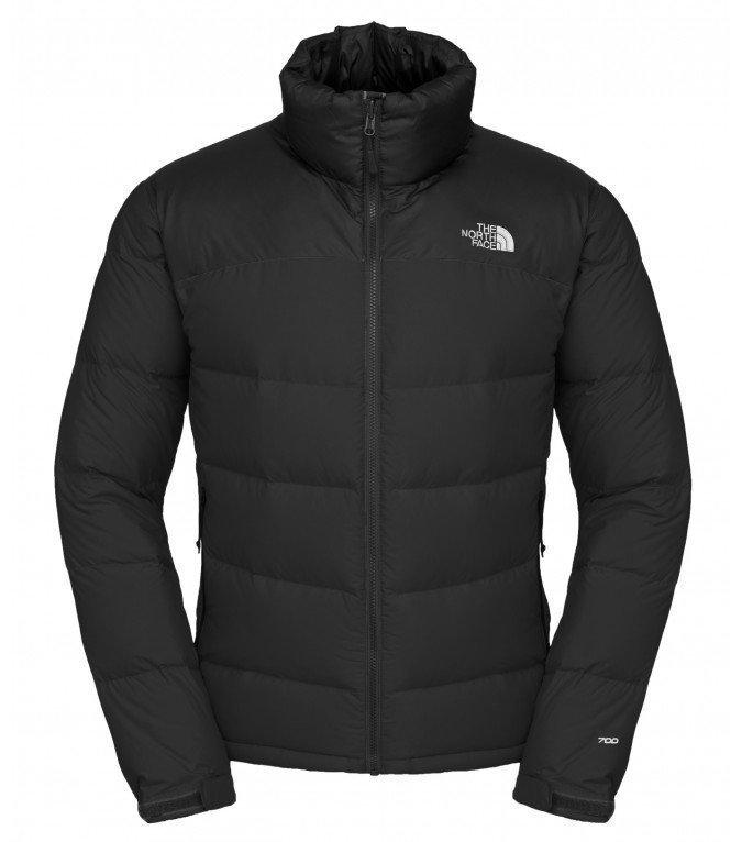 The North Face Men Nuptse Jacket pieneen tilaan pakattava talvitakki Black