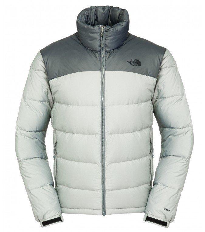 The North Face Men Nuptse Jacket pieneen tilaan pakattava talvitakki Vanadis Grey He