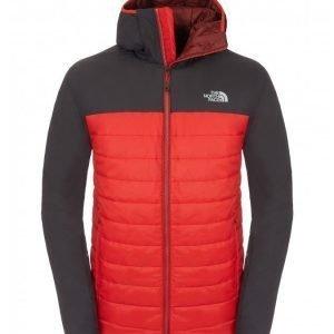 The North Face Men Victory hooded Jacket pieneen tilaan pakattava talvitakki Salsa
