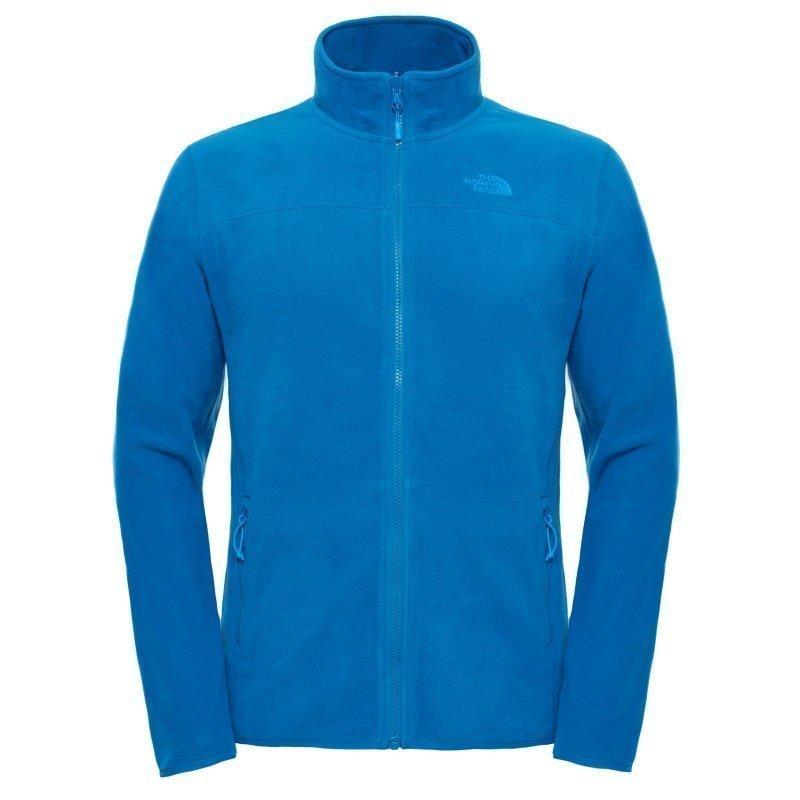 The North Face Men's 100 Glacier Full Zip S Bannf Blue