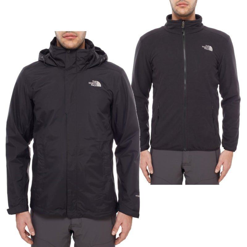The North Face Men's Evolution II Triclimate Jacket L TNF Black