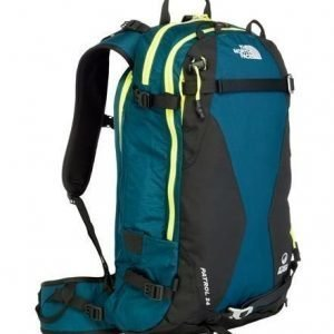 The North Face Patrol 24L Ski reppu sininen/keltainen