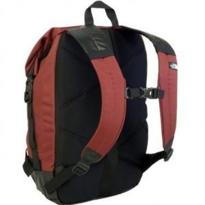 The North Face Pickford rolltop backpack Cherry Stain Brown