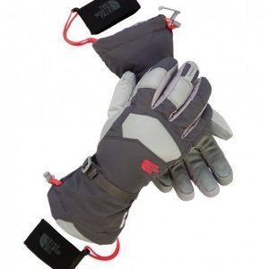The North Face Powdercloud Gloves käsineet harmaa