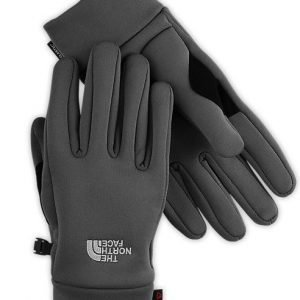 The North Face Powerstretch Gloves käsineet tummanharmaa