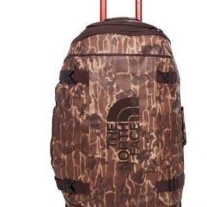 The North Face Rolling Thunder matkalaukku pyörillä 80L ruskea kuvioitu
