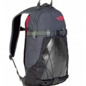 The North Face Slackpack 16 reppu musta/punainen
