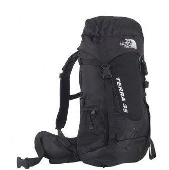 The North Face Terra 35 Litre Backpack Musta