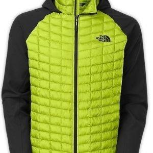 The North Face Thermoball jacket pieneen tilaan pakattava takki vihreä