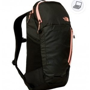 The North Face Women Pinyon backpack musta/koralli