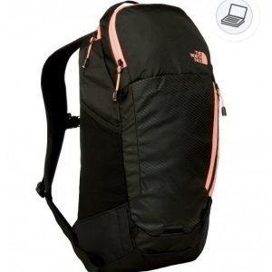 The North Face Women Pinyon backpack musta/koralli