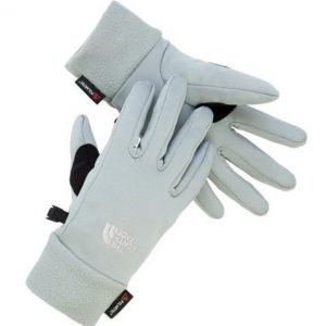 The North Face Women Powerstretch Gloves käsineet harmaa