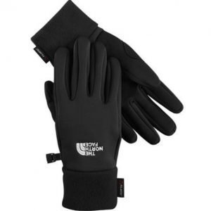 The North Face Women Powerstretch Gloves käsineet musta