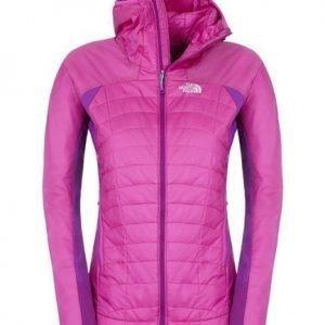 The North Face Women's DNP Hoodie pieneen tilaan pakattava välikausitakki pinkki/li