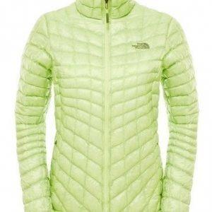 The North Face Women's Thermoball Jacket pieneen tilaan pakattava talvitakki keltainen