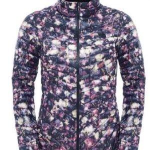 The North Face Women's Thermoball Jacket pieneen tilaan pakattava talvitakki musta-kuviollinen