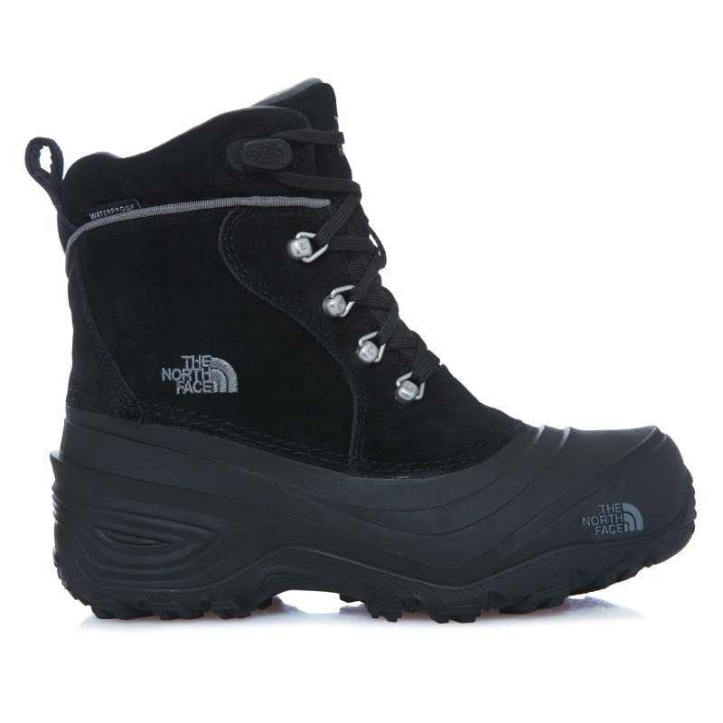 The North Face Youth Chilkat Lace II US3/EU35 Black/Zinc Grey