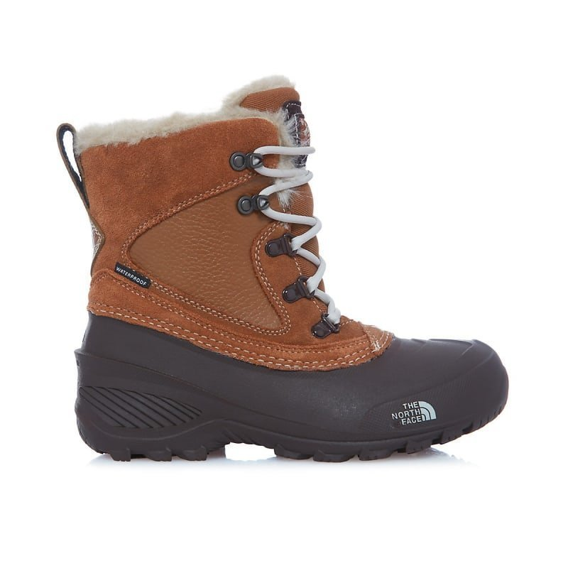 The North Face Youth Shellista Extreme US 3/ EU 35 Dachsund Brown /Moonlight Ivor