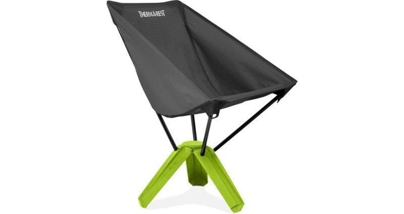 Thermarest Treo Ultra Compact matkatuoli musta / vihreä