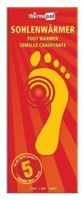 Thermopad kertakäyttöinen jalanlämmitin (PARI)