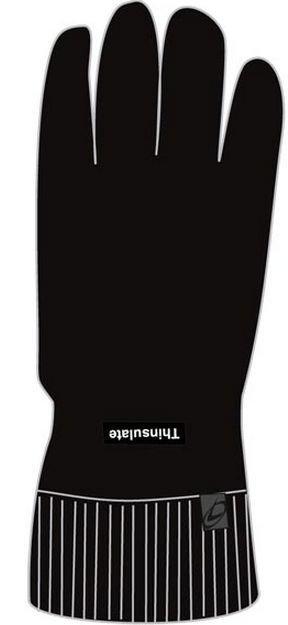 Thinsulate Raggwool sormikkaat musta 9