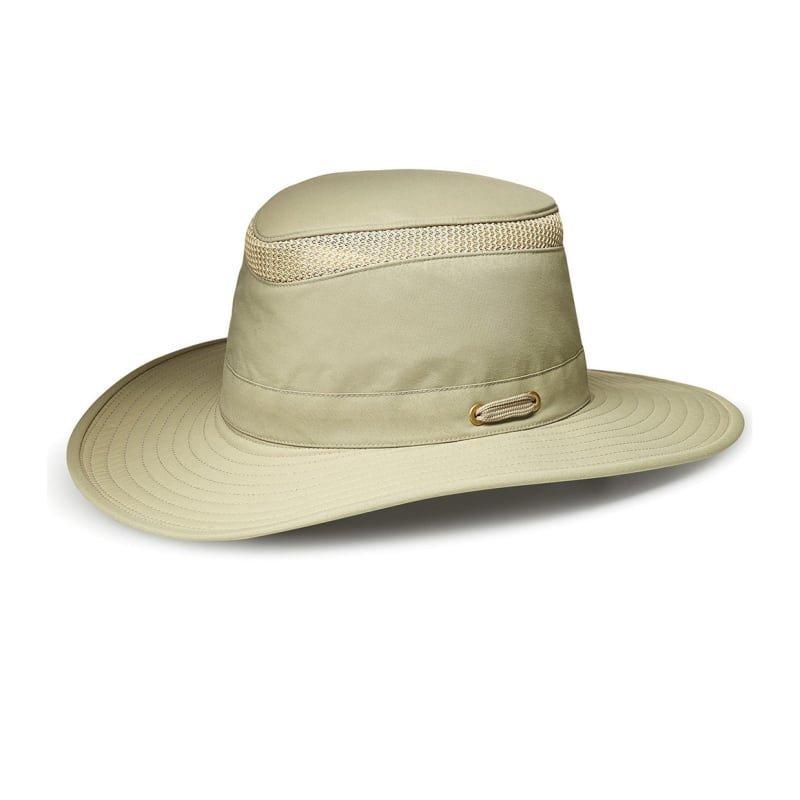 Tilley LTM6 Airflo Hat 7 1/8 KHAKI WITH OLIVE UNDERBRIM