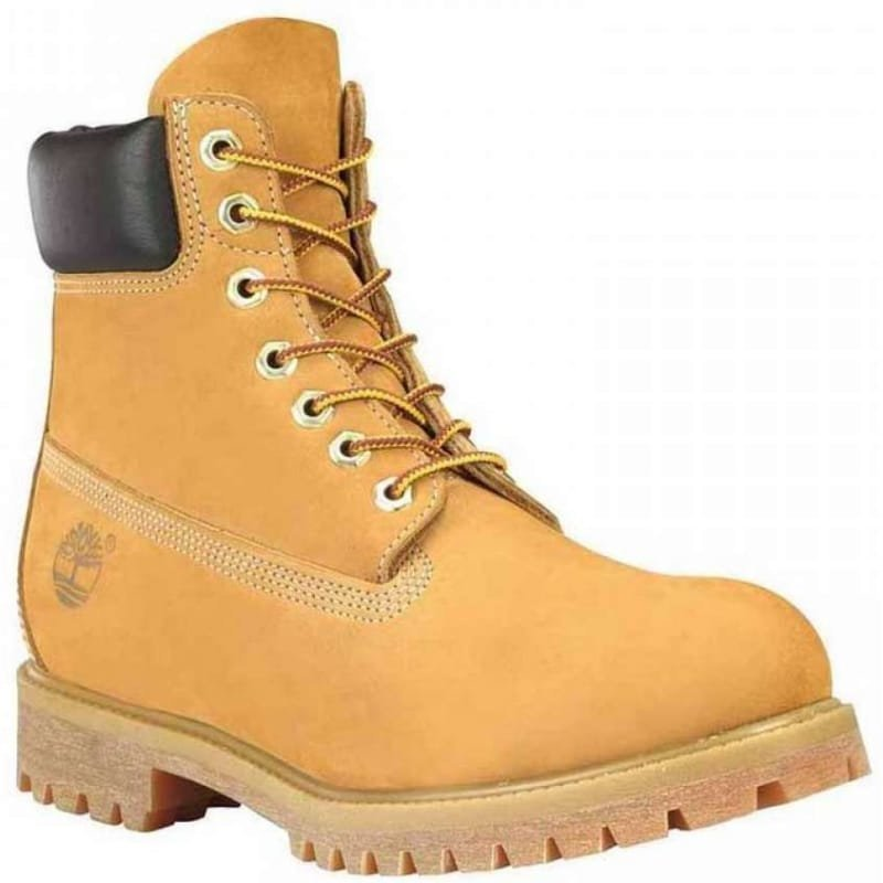"Timberland Men's 6"" Premium Boot US12 / EU46 Yellow"