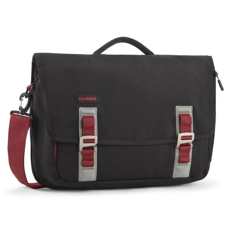Timbuk2 Command Messenger S Black/Red Devil