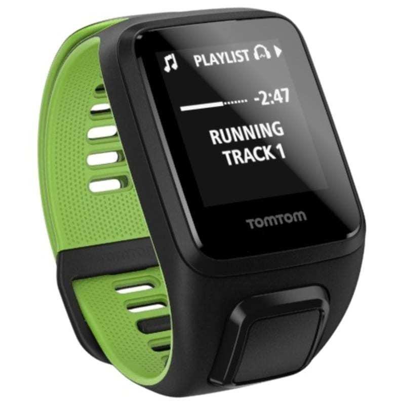 TomTom Runner 3 Cardio + Music SMALL Black/Green