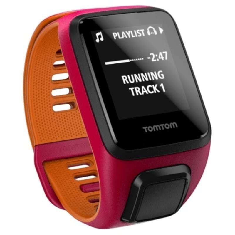 TomTom Runner 3 Cardio + Music SMALL Dark Pink/Orange