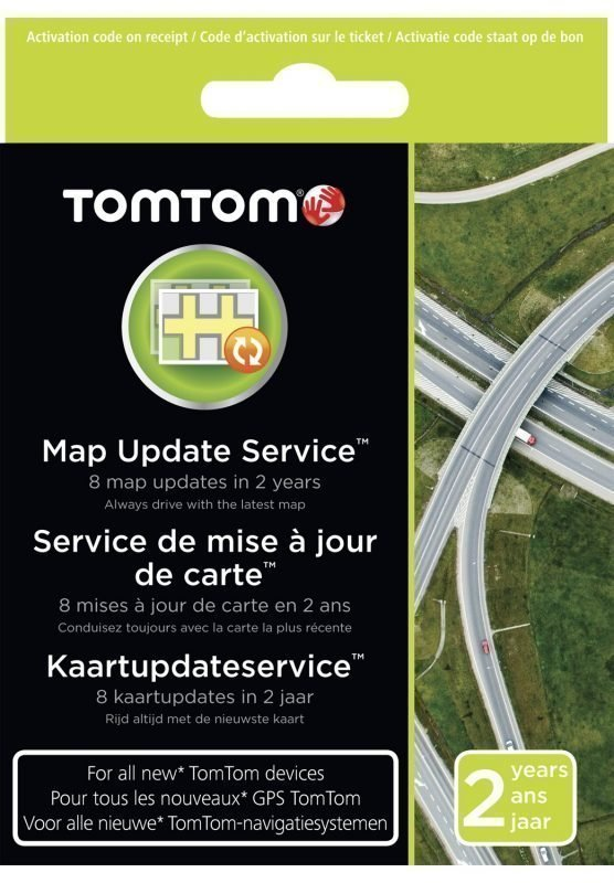 TomTom-karttapäivitykset 2 vuotta