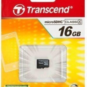 Transcend MicroSDHC Card 16GB Class 4