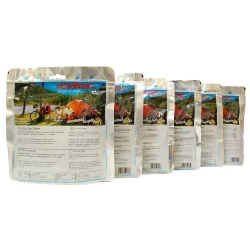 Travellunch Laktosfritt paket 6x125 gram 1SIZE No